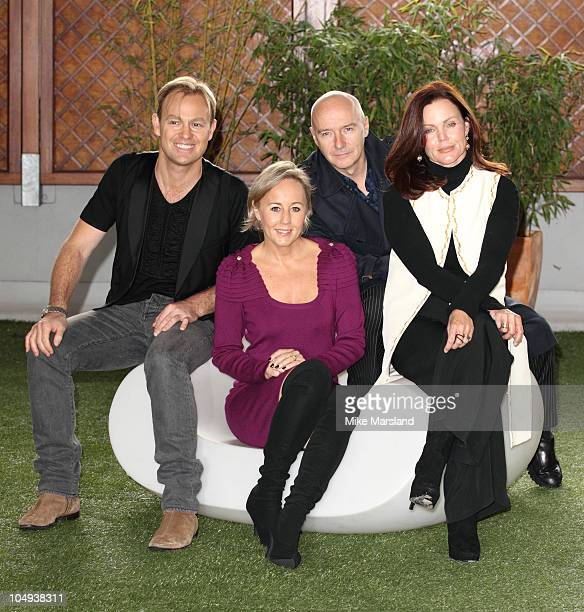 Jason Donovan Shirlie Holliman Midge Ure and Belinda Carlisle promote the up and coming 'Here Now 10th Anniversary Tour 2011' at The Courthouse Hotel...