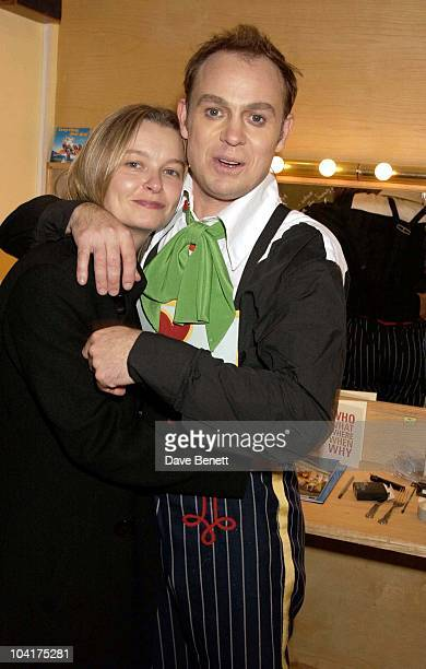 Jason Donovan With His Girlfriend Angela Malloch, Jason Donovan In Chitty Chitty Bang Bang At The London Palladium, Argyll Street, London
