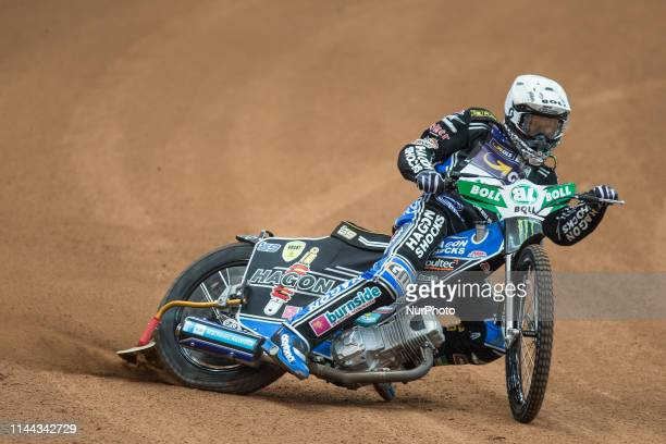 Jason Doyle during FIM Speedway Grand Prix Of Poland Training in Warsaw, Poland, on 17 May 2019.
