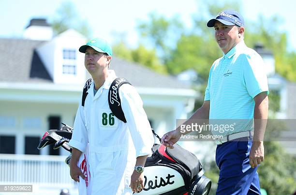 Jason Dufner of the United States during a practice round prior to the start of the 2016 Masters Tournament at Augusta National Golf Club on April 5...