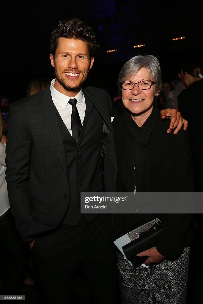 Jason Dundas and Dianne Dundas pose during the After Party following the David Jones Spring/Summer 2016 Fashion Launch at Fox Studios on August 3, 2016 in Sydney, Australia.