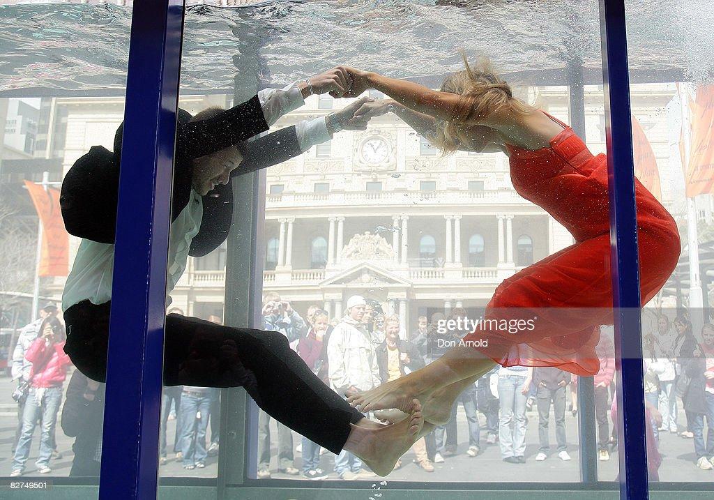 Cosmopolitan Neutrogena Underwater Fashion Shoot : News Photo
