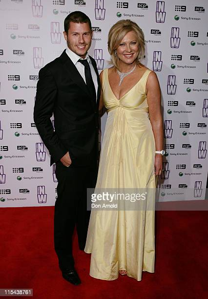Jason Dundas and Kerri-Anne Kennerley attends the NW party to celebrate the 80th Annual Academy Awards in The Hilton Grand Ballroom on February 25,...