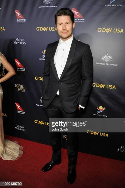 Jason Dundas attends the 2019 G'Day USA Gala at 3LABS on January 26 2019 in Culver City California