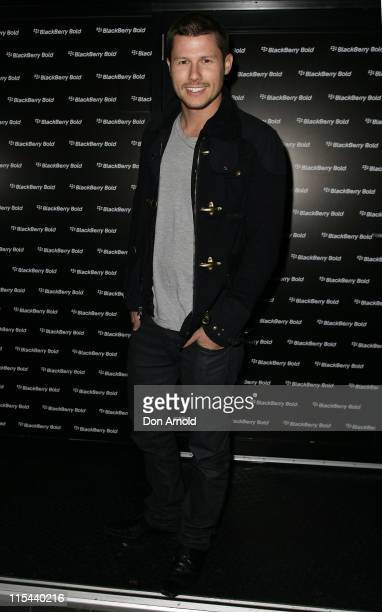 Jason Dundas attends the official launch party for the BlackBerry Bold Smartphone at the Oxford Art Factory on July 29, 2008 in Sydney, Australia.