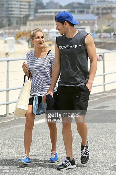 Jason Dundas is seen at Bondi Beach on November 6, 2014 in Sydney, Australia.
