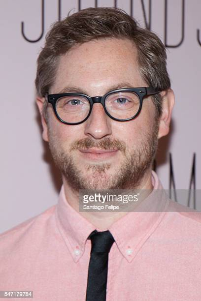 Jason Eagan attends 'Small Mouth Sounds' Opening Night at The Pershing Square Signature Center on July 13 2016 in New York City