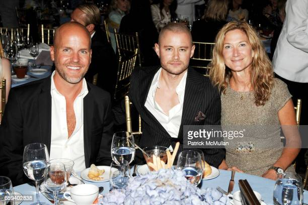 Jason Flesher Tim Crout and Jennifer Nilles attend The Couture Council Award for Artistry of Fashion Honoring DRIES VAN NOTEN at Cipriani 42nd Street...