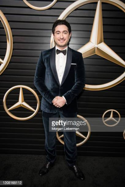 Jason Fuchs arrives at the 2020 MercedesBenz Annual Academy Viewing Party at Four Seasons Los Angeles at Beverly Hills on February 09 2020 in Los...