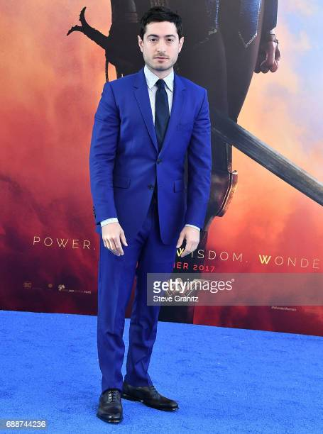 Jason Fuchs arrives at the Premiere Of Warner Bros Pictures' Wonder Woman at the Pantages Theatre on May 25 2017 in Hollywood California