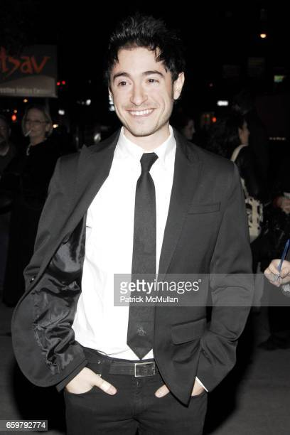 "Jason Fuchs attends Roundabout Theatre Company's Opening Night of THE UNDERSTUDY"" at Laura Pels Theatre on November 05 2009 in New York City"