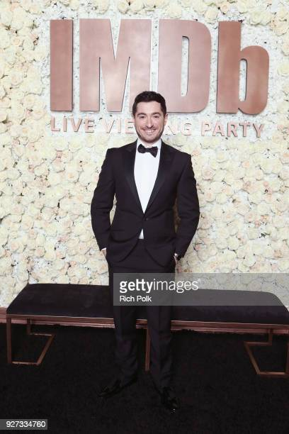 Jason Fuchs attends the IMDb LIVE Viewing Party on March 4 2018 in Los Angeles California