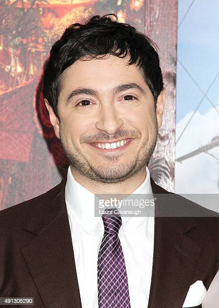 Jason Fuchs attends the Pan New York Premiere Outside Arrivals at Ziegfeld Theater on October 4 2015 in New York City