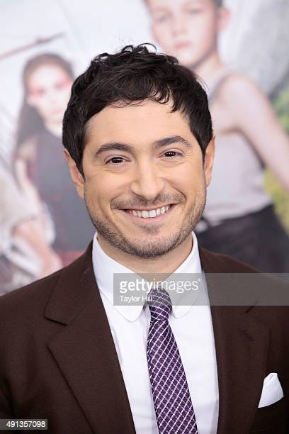 Jason Fuchs attends the Pan premiere at Ziegfeld Theater on October 4 2015 in New York City