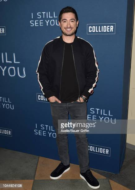Jason Fuchs attends the special screening of Collider's 'I Still See You' at ArcLight Sherman Oaks on October 2 2018 in Sherman Oaks California
