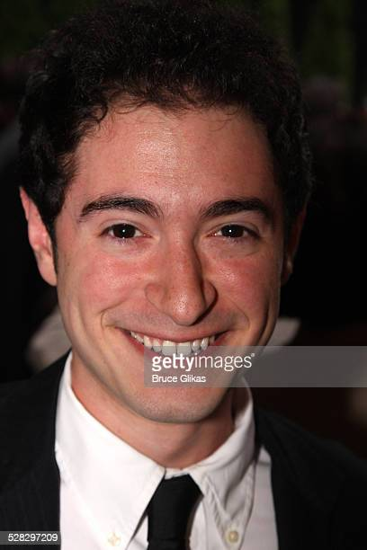 Jason Fuchs poses at the OffBroadway opening night of The Marriage of Bette and Boo at the Roundabout Theatre Company's Laura Pels Theatre on July 10...