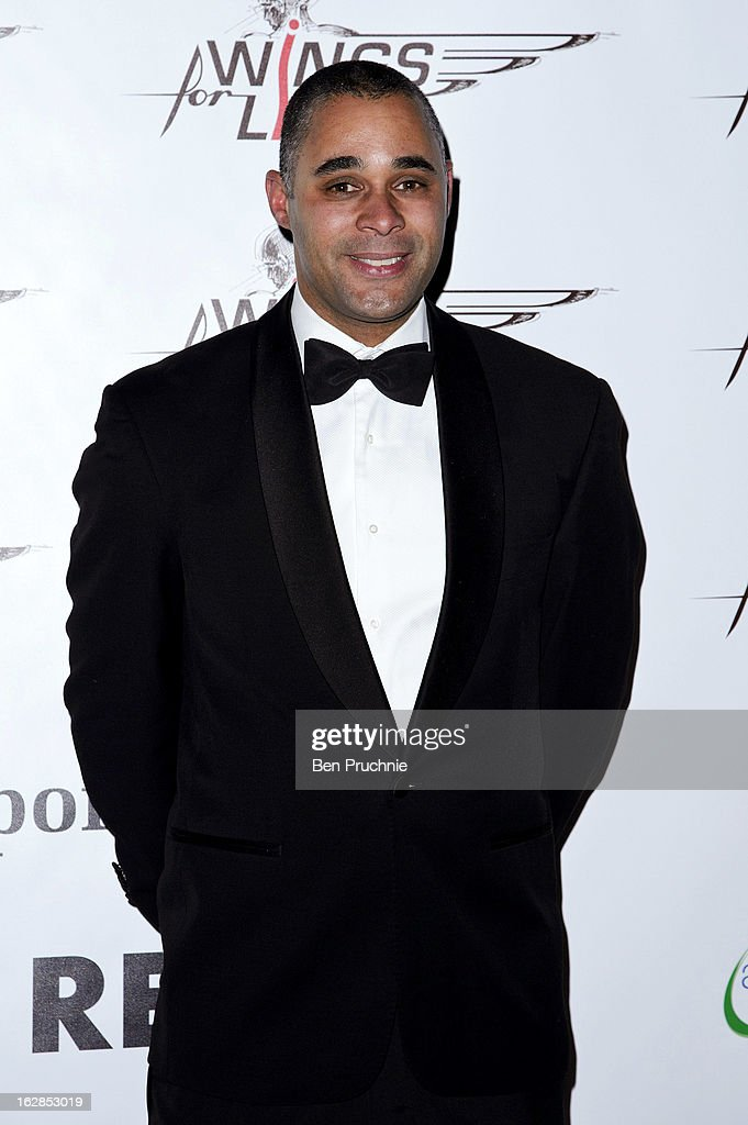 Jason Gardener attends a dinner and ball hosted by The Cord Club in aid of Wings For Life at One Marylebone on February 28, 2013 in London, England.