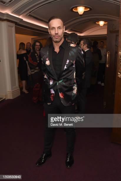 Jason Gardiner attends the press night performance of Madam Butterfly part of the English National Opera's 2019/20 season at The London Coliseum on...