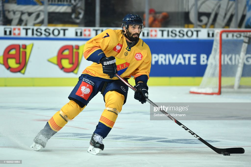 EHC Red Bull Muenchen v Djurgarden Stockholm - Champions Hockey League - Quarter Finals: 2nd Leg : News Photo