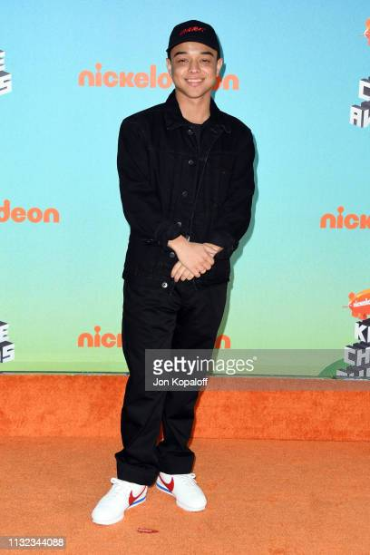 Jason Genao attends Nickelodeon's 2019 Kids' Choice Awards at Galen Center on March 23 2019 in Los Angeles California