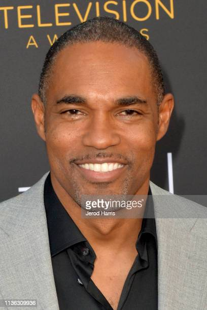 Jason George attends The Television Academy Foundation's 39th College Television Awards at Wolf Theatre on March 16 2019 in North Hollywood California