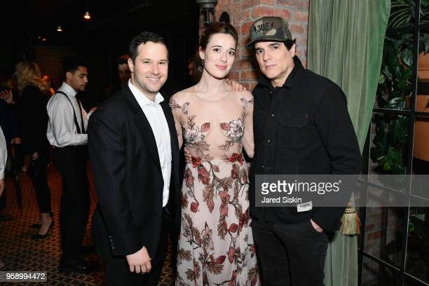Jason Gutman Marina Squerciati and Yul Vazquez attend the Gersh Upfronts Party 2018 at The Bowery Hotel on May 15 2018 in New York City