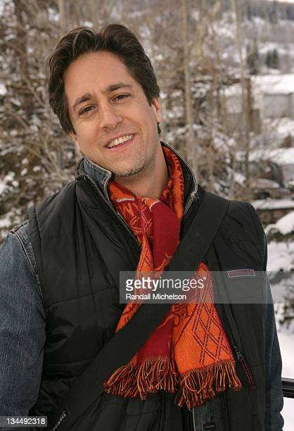 Jason Halter executive producer during 2006 Sundance Film Festival 'site specificLAS VEGAS 05' Outdoor Portraits in Park City Utah United States