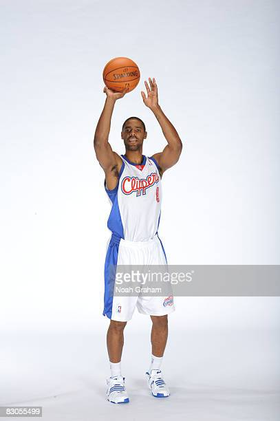 Jason Hart of the Los Angeles Clippers poses for a portrait during NBA Media Day on September 29 2008 at the Clippers Training Facility in Playa...