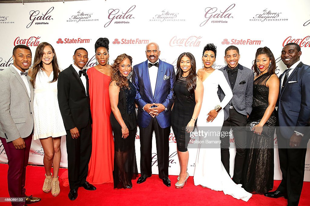 The 2014 Steve & Marjorie Harvey Foundation Gala Presented By Coca-Cola - Arrivals : News Photo