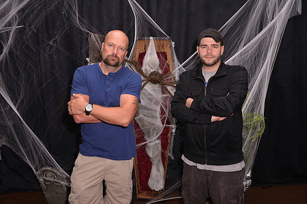 Jason Hawes And Steve Gonsalves From SyFy Ghost Hunters Meet And