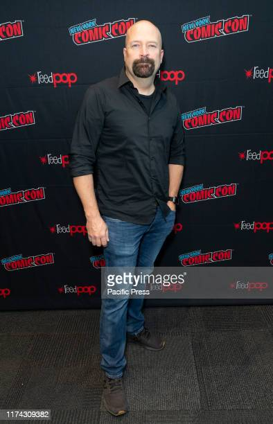 Jason Hawes attends presser for Ghost Nation by Travel Channel during New York Comic Con at Jacob Javits Center