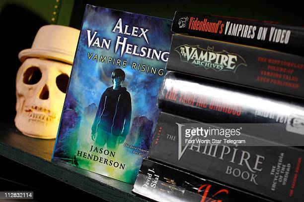 Jason Henderson is a product marketing manager during the day but at night he is writing vampire books including 'Alex Van Helsing Vampire Rising'...
