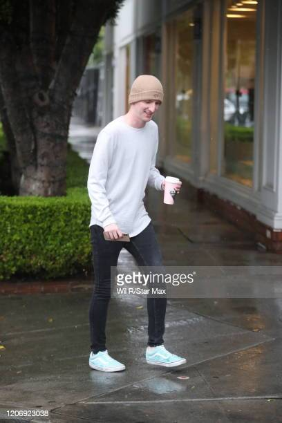 Jason Henshaw is seen on March 13 2020 in Los Angeles California