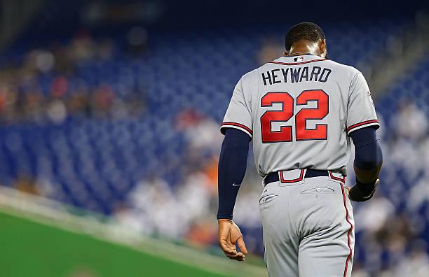 Jason Heyward of the Atlanta Braves