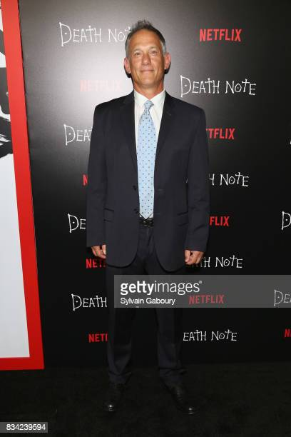 Jason Hoffs attends Death Note New York Premiere at AMC Loews Lincoln Square 13 theater on August 17 2017 in New York City