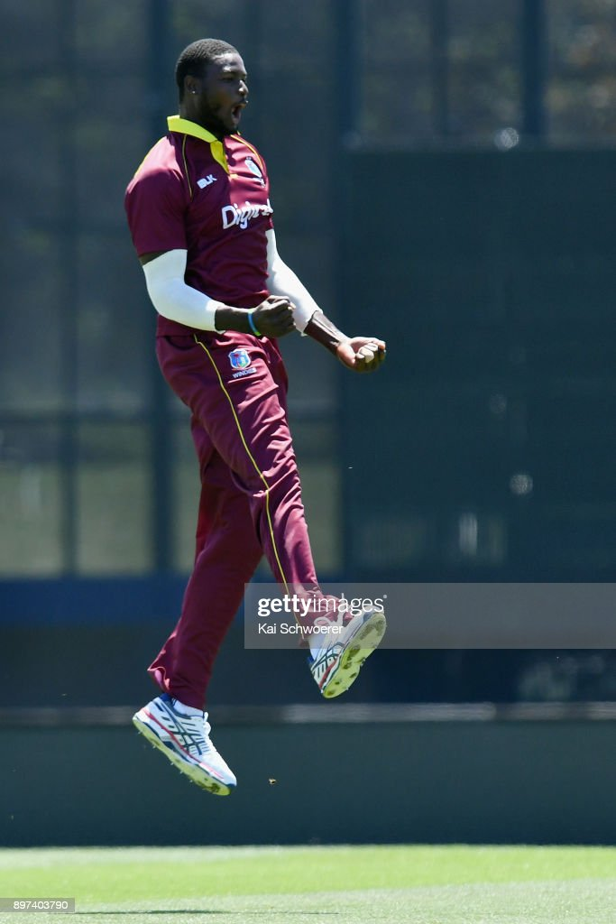New Zealand v West Indies: 2nd ODI : News Photo