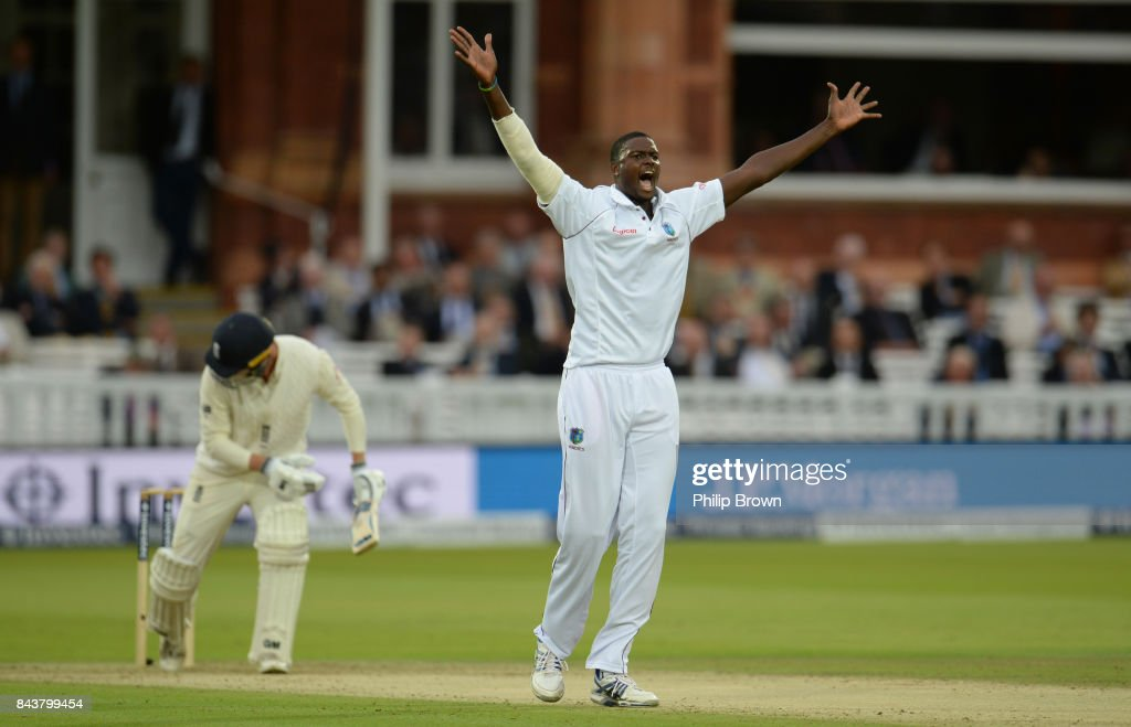 England v West Indies - 3rd Investec Test: Day One : News Photo