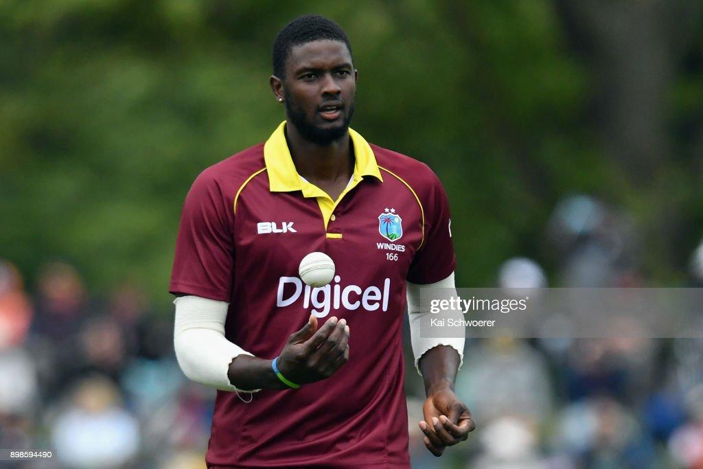 New Zealand v West Indies - 3rd ODI : News Photo