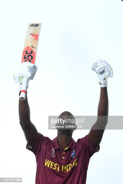 Jason Holder of West Indies poses for a portrait prior to the ICC Cricket World Cup 2019 at The Radisson Blu Hotel on May 25 2019 in Bristol England
