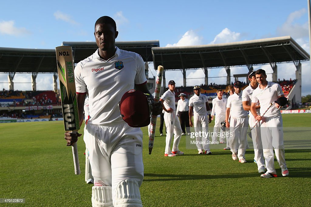 West Indies v England - 1st Test: Day Five : News Photo
