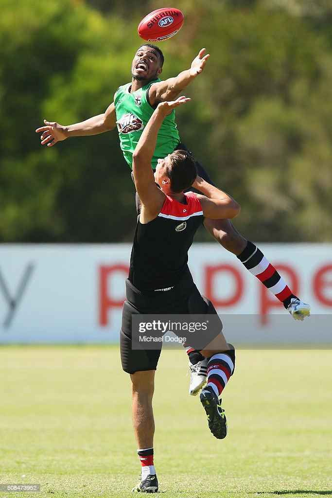St Kilda Saints Media & Training Session