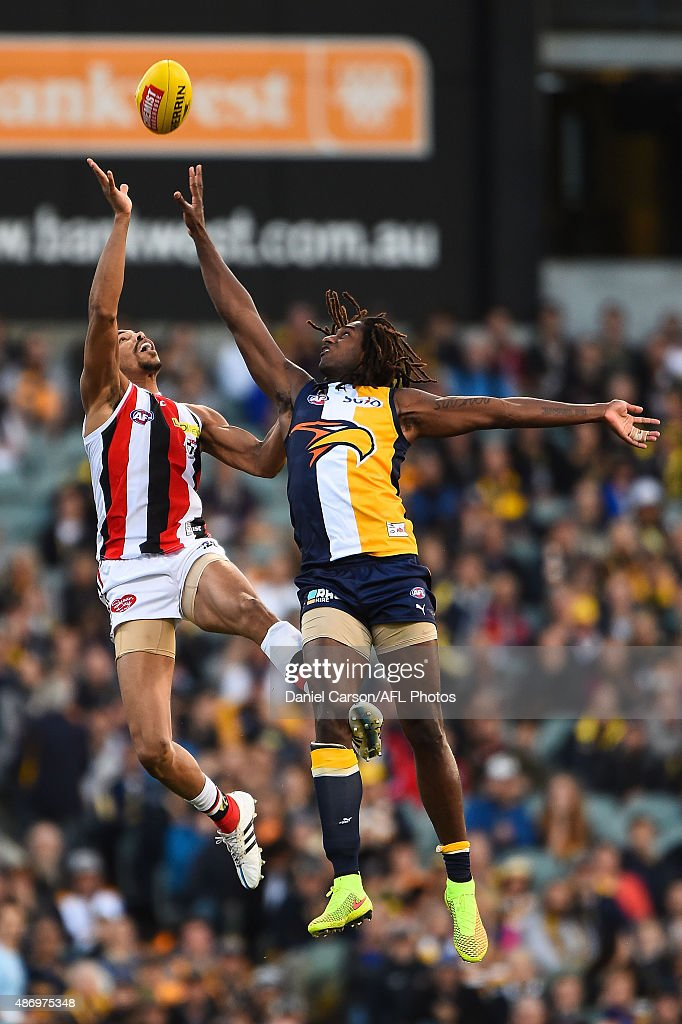 AFL Rd 23 - West Coast v St Kilda