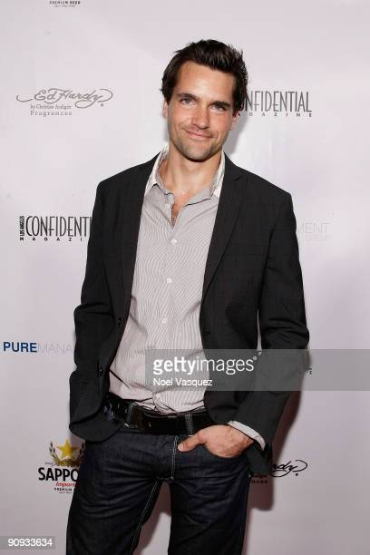 Jason Hurst attends Los Angeles Confidential magazine's annual pre-Emmy party, hosted by Heidi Klum and Niche Media CEO Jason Binn, held at a private...