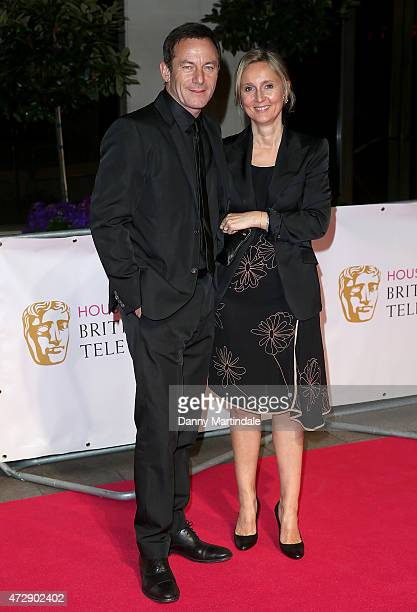 Jason Isaacs and Emma Hewitt attends the After Party dinner for the House of Fraser British Academy Television Awards at The Grosvenor House Hotel on...
