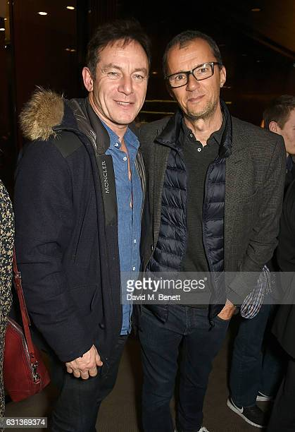 Jason Isaacs and John Battsek attend the Netflix special screening and reception of The White Helmets hosted by The Clooney Foundation For Justice...