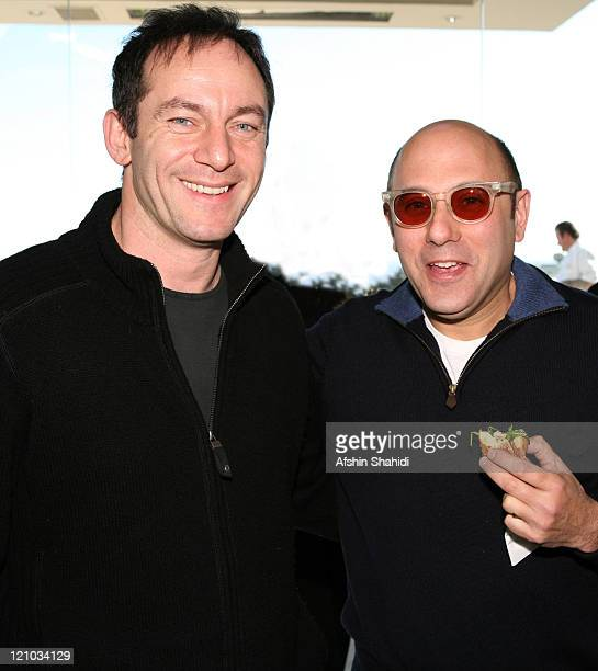 Jason Isaacs and Willie Garson during BESTLIFE's House In The Hills Gift Suite Day 2 in Los Angeles CA United States