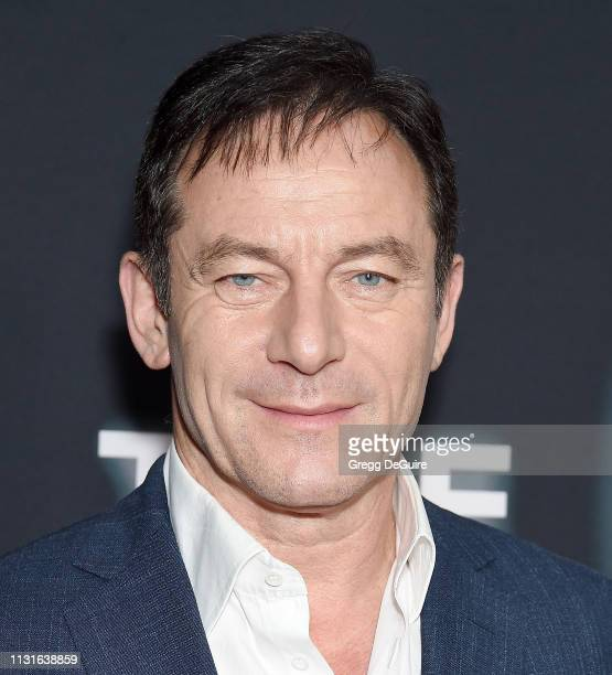 Jason Isaacs arrives at Netflix's The OA Part II Premiere at LACMA on March 19 2019 in Los Angeles California