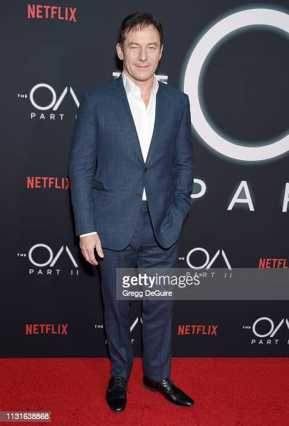 "Jason Isaacs arrives at Netflix's ""The OA Part II"" Premiere at LACMA on March 19, 2019 in Los Angeles, California."
