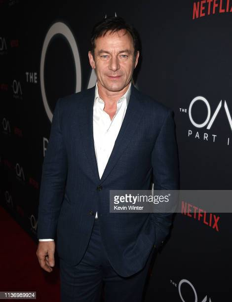 """Jason Isaacs arrives at the premiere of Netflix's """"The OA Part II"""" at LACMA on March 19, 2019 in Los Angeles, California."""