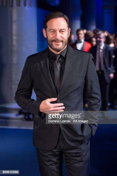 Jason Isaacs arrives for The British Independent Film Awards at Old Billingsgate in London